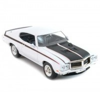 Auto 1:24 Welly BUICK GSX 1970 žltý