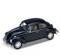 Auto 1:24 Welly VW BEETLE čierny