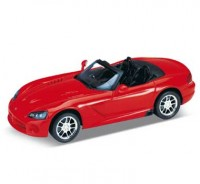 Auto 1:24 Welly DODGE VIPER 2003 červený