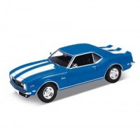Auto 1:24 Welly 68 Chevrolet Camaro Z28 modrý
