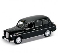 Auto 1:24 Welly Austin FX4 London Taxi čierny