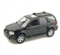 Auto 1:24 Welly 05 Ford Escape XLT Sport čierny