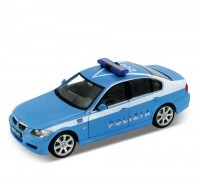 Auto 1:24 Welly BMW330i polizia
