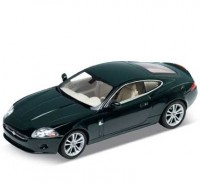 Auto 1:24 Welly JAGUAR XK COUPE bordový