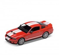 Auto 1:24 Welly Shelby Cobra GT500 modrá