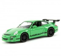 Auto 1:24 Welly PORSCHE 911 997 GT3 RS zelené
