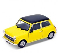 Auto1:24, Welly MINI COOPER 1300 žltý