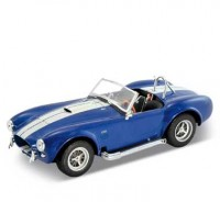 Auto 1:24 Welly SHELBY COBRA 427, 1965 modrá