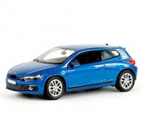 Auto 1:24 Welly VW SCIROCCO modrý