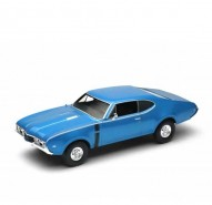 Auto 1:24 Welly 1968 Oldsmobile 442 červený
