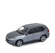 Auto 1:24 Welly BMW X5 2014 šedé
