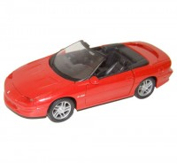 Auto 1:24 Welly 1995 Chevrolet Camaro červené