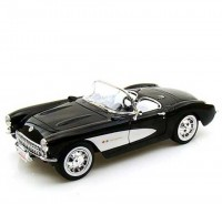 Auto 1:24 Welly Chevrolet Corvette1957 červená