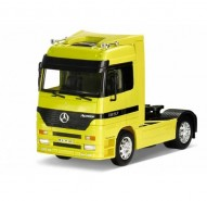 Auto 1:32 Welly Mercedes Actros žltý