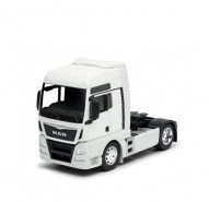 Auto 1:32 Welly MAN TGX modrý