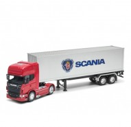 Welly Truck Scania V8 R730 Tractor Trailer