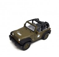Auto 1:34 Welly Jeep Wrangler Rubicon ARMY