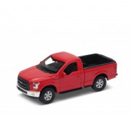 Auto 1:34 Welly 2015 Ford F-150 Regular Cab červený