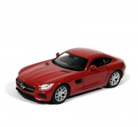 Auto 1:34 Welly Mercedes AMG GT bordový