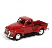 Auto 1:34 Welly 1953 Chevrolet 3100 Pick Up bordový