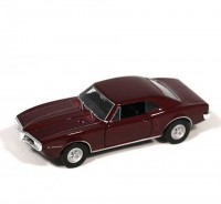 Auto 1:34 Welly 1967 Pontiac Firebird bordový