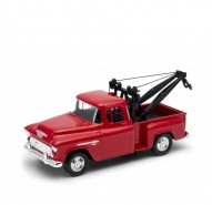 Auto 1:34 Welly 1955 Chevy Stepside Tow Truck