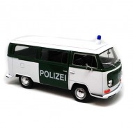 Auto 1:24 Welly 1972 VW Bus T2 policajný